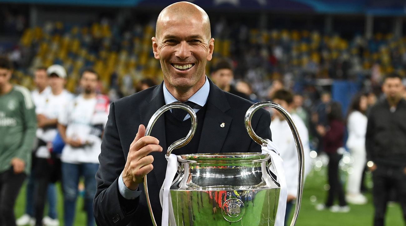 Zinedine Zidane is back as Real Madrid manager