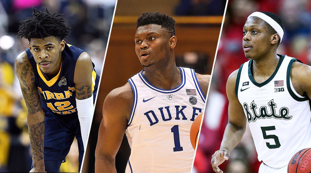 f7d70ee6ef4c College basketball All Americans  Zion Williamson