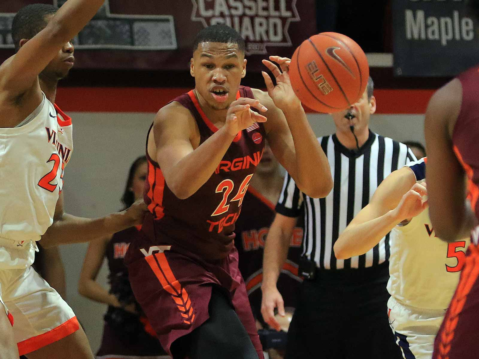 Virginia Tech forward Kerry Blackshear