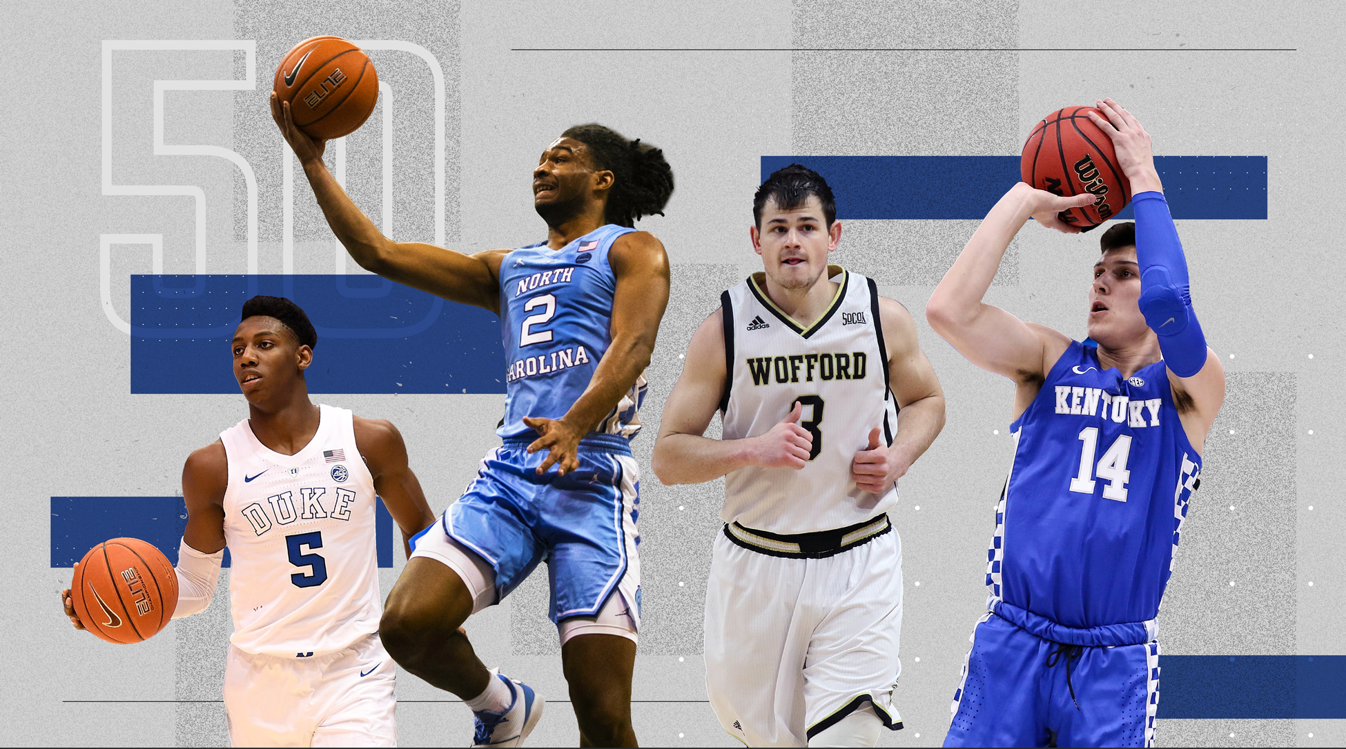8dd0f6b90 The Top 50 Players in College Basketball This Season