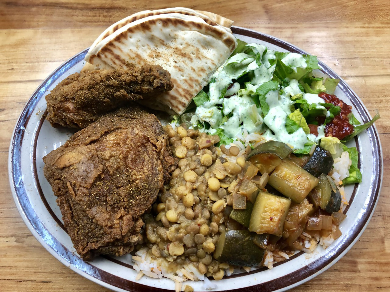 Curry Fried Chicken in Salt Lake City
