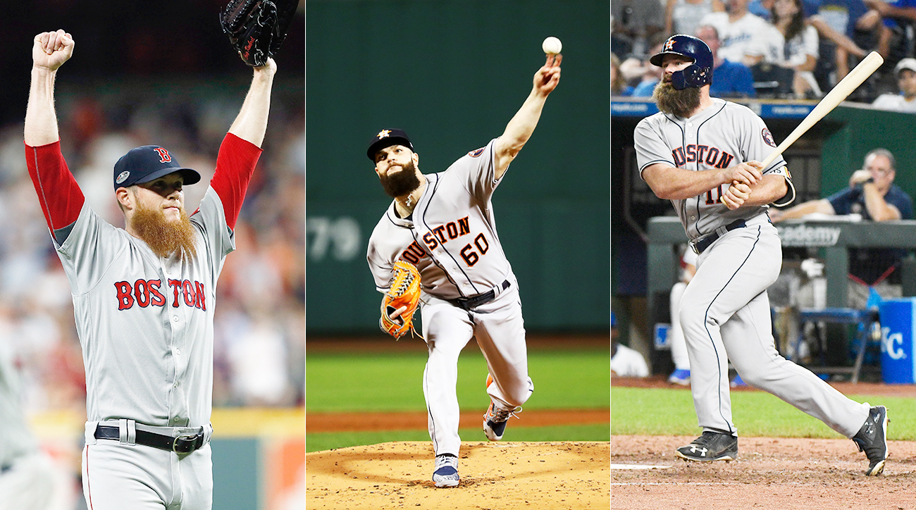 craig kimbrel, dallas keuchel, evan gattis, free agent matches