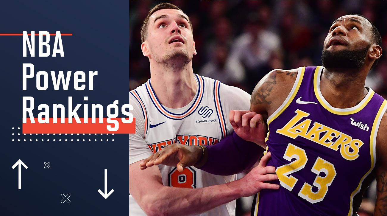 NBA power rankings  LeBron James 49974b4dc3e8