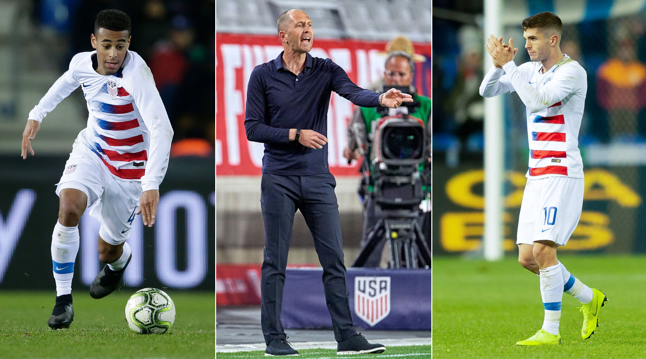 Tyler Adams and Christian Pulisic will take on big roles under USMNT coach Gregg Berhalter