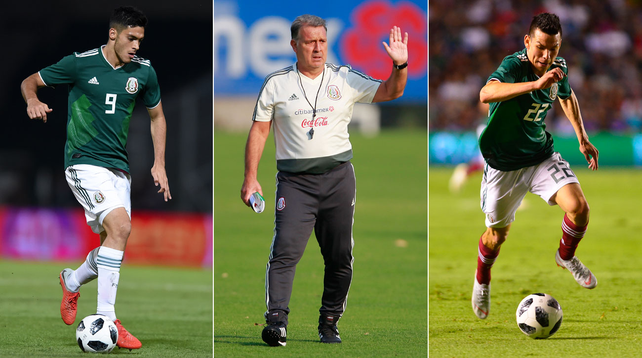 Raul Jimenez and Hirving Lozano lead Mexico vs. Chile and Paraguay