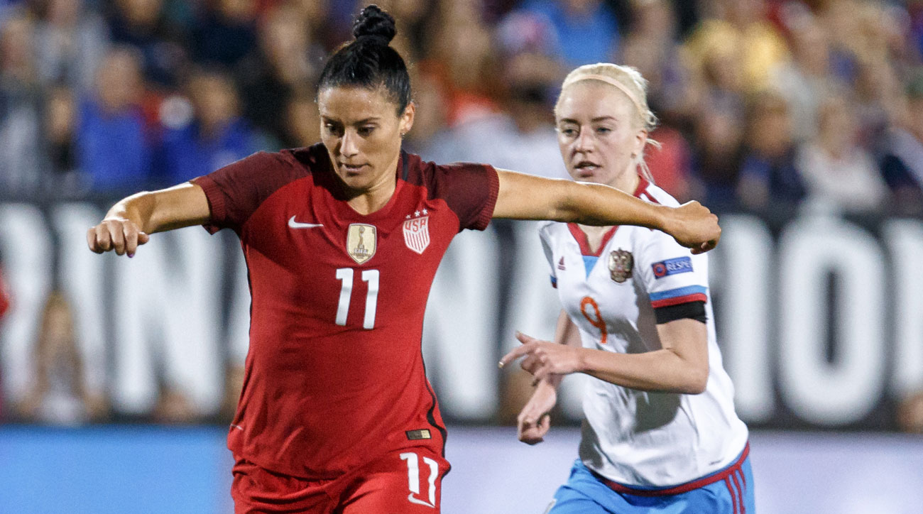 Ali Krieger is back with the USWNT ahead of a pair of friendlies