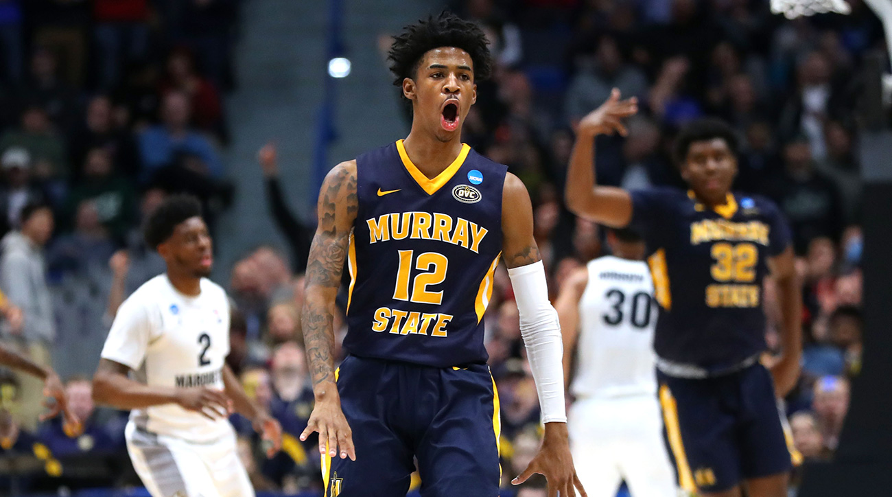 Ja Morant triple double: Murray State steals show at March Madness