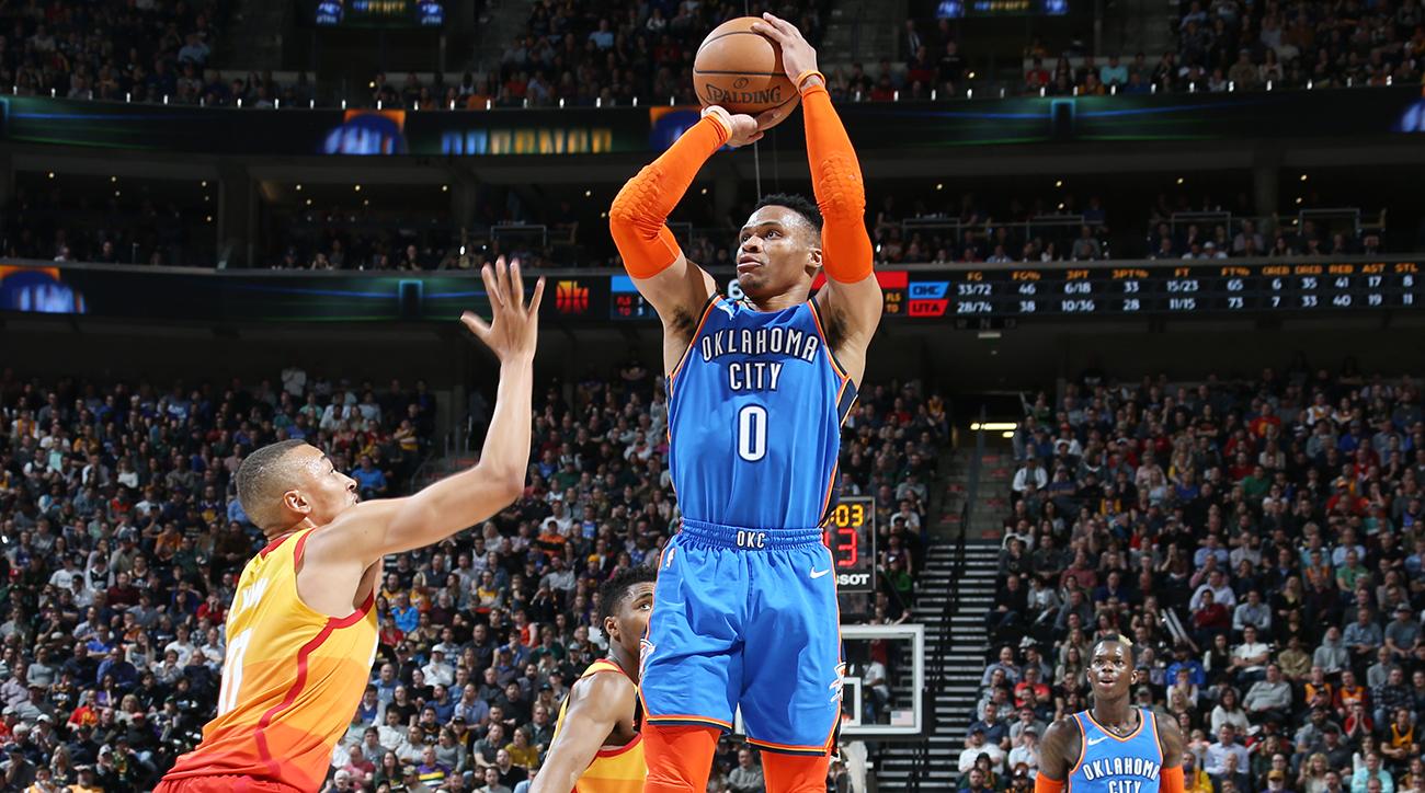 Oklahoma City Thunder v Utah Jazz