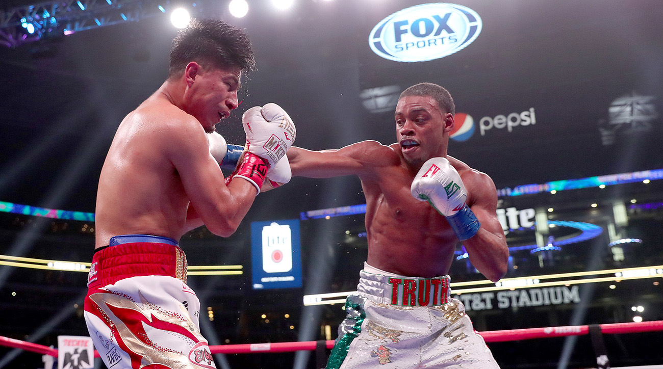 Errol Spence Jr v Mikey Garcia