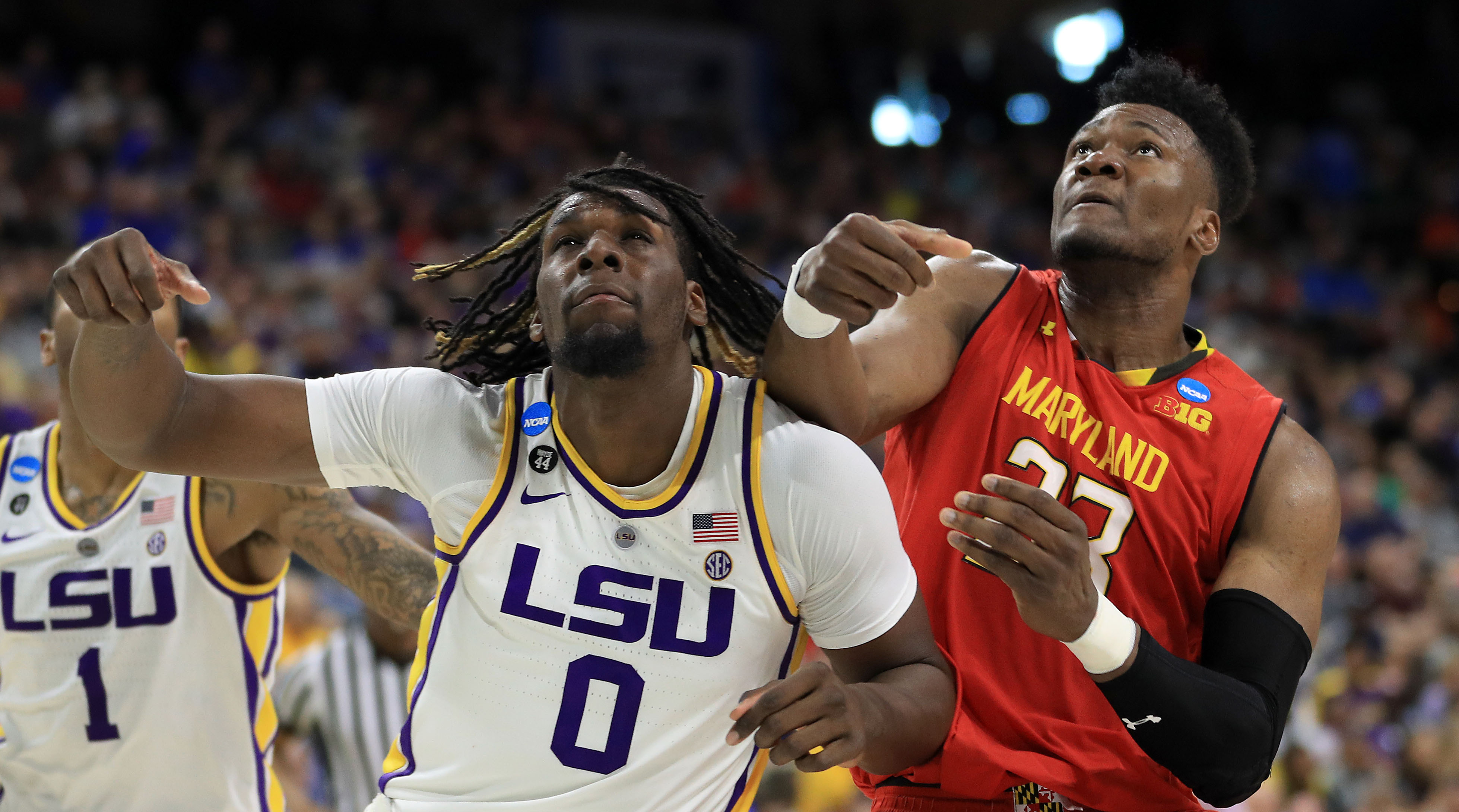 LSU beats Maryland in NCAA tournament second round