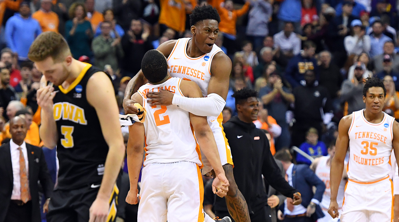 March Madness 2019: Tennessee advances in NCAA tournament bracket