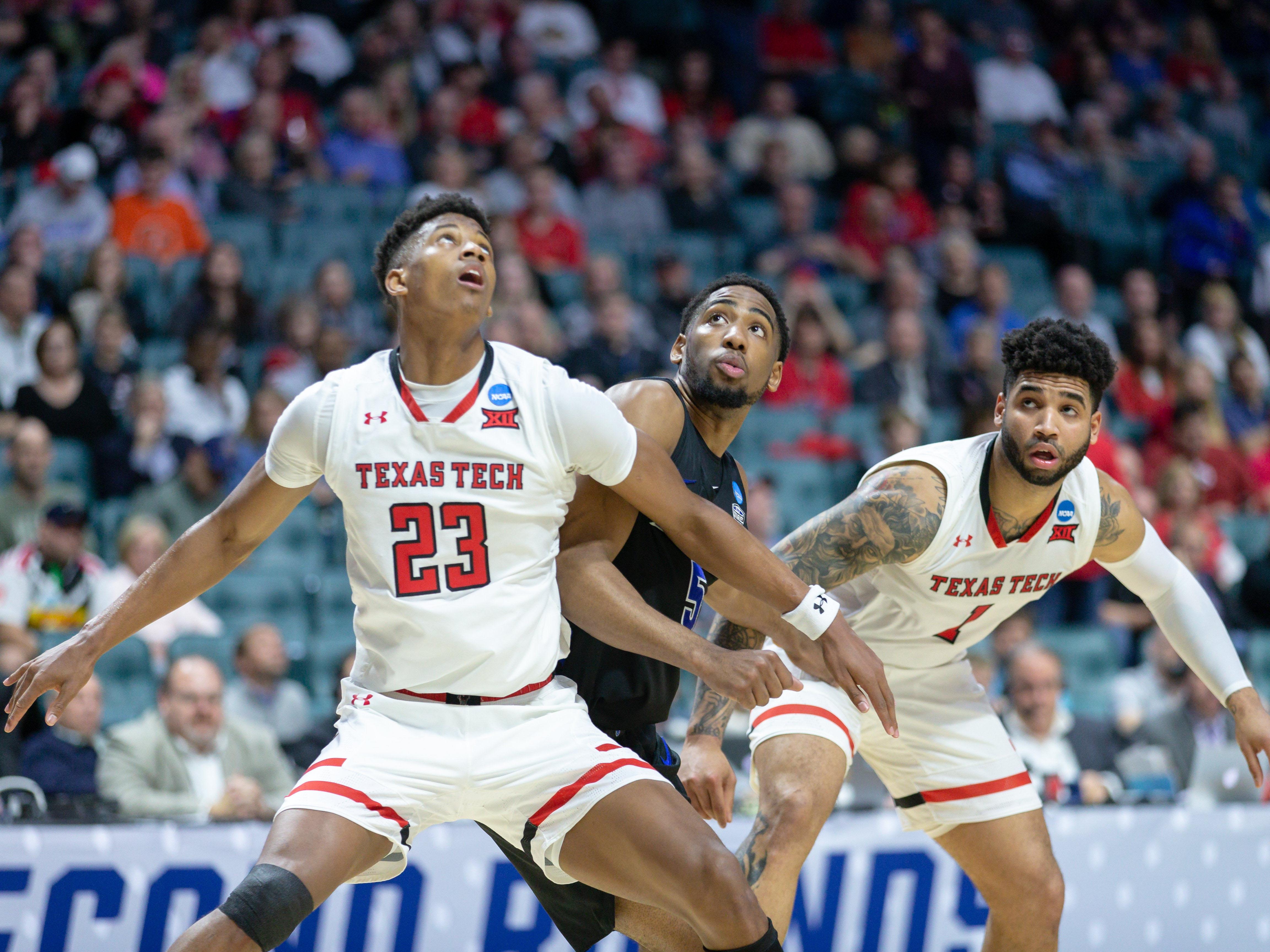 NCAA BASKETBALL: MAR 24 Div I Men's Championship - Second Round - Texas Tech v Buffalo