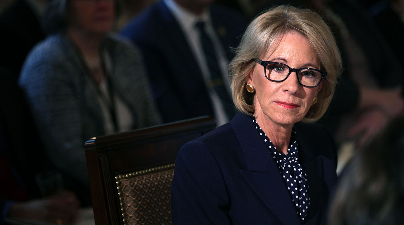 Betsy Devos Defends Proposed Special Olympics Cuts In New Budget