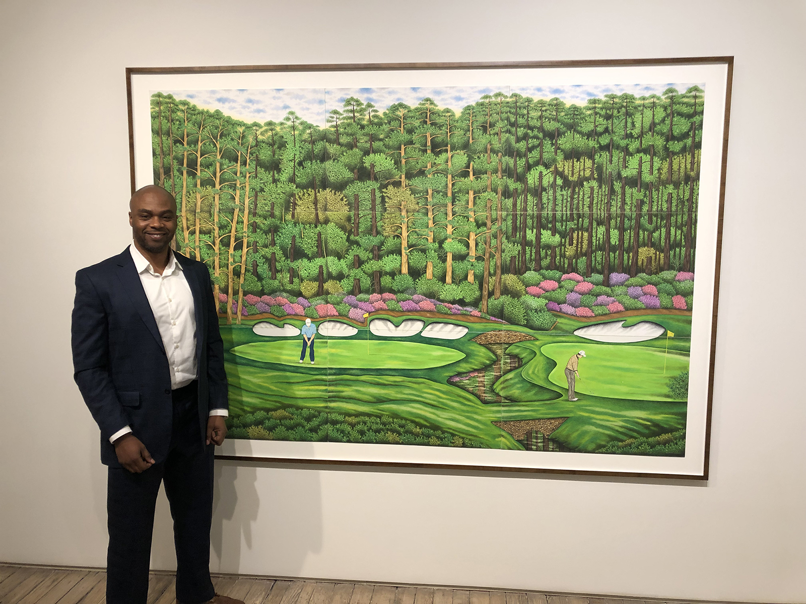 Valentino dixon art gallery golf drawings