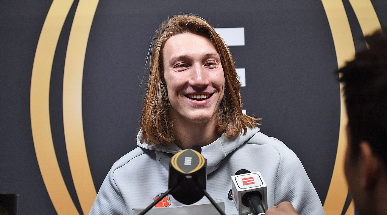 Clemson Trevor Lawrence NCAA Endorsement Rules Pay Players Debate
