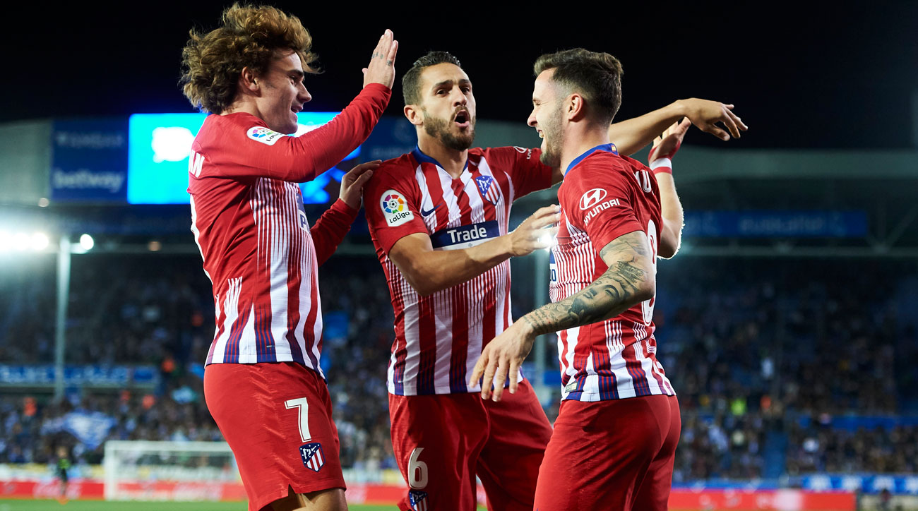 Atletico Madrid will face the MLS All-Stars in Orlando