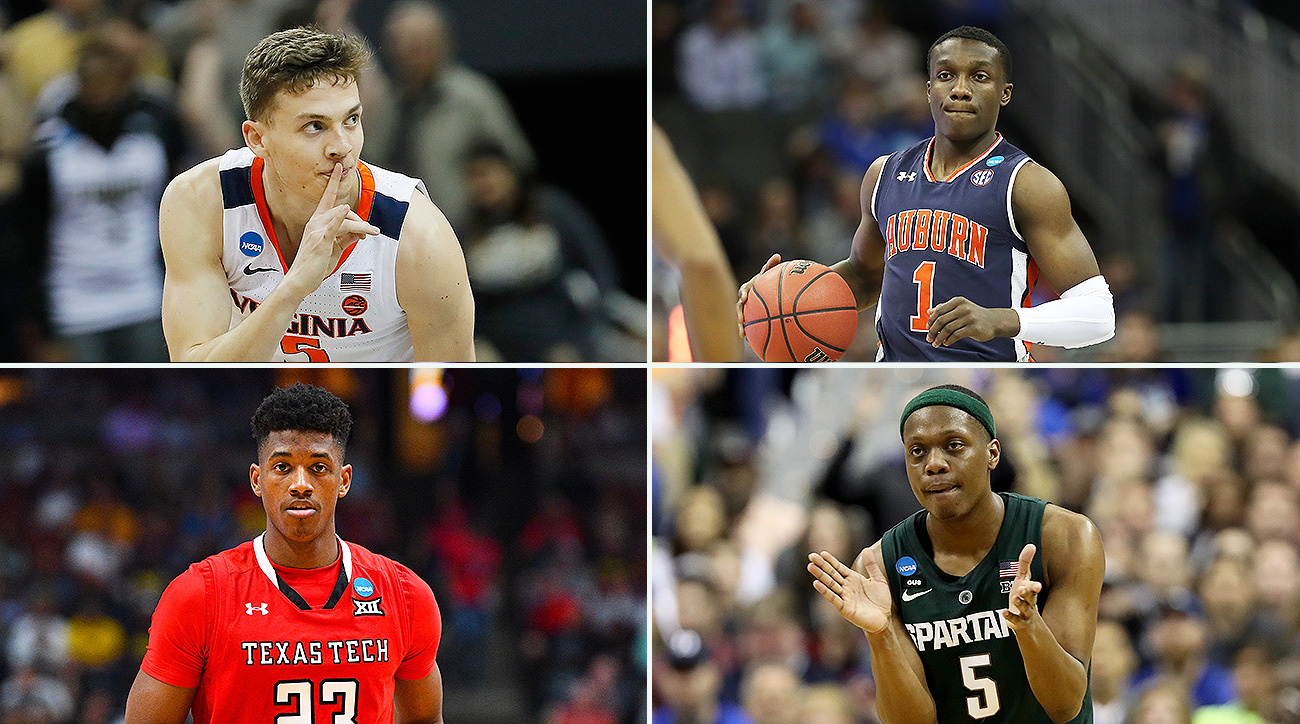 2019 Final Four March Madness Virginia Michigan State Texas Tech Auburn