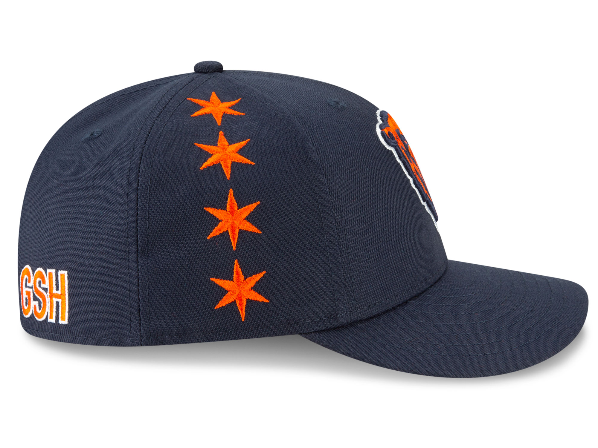 outlet store fd348 c90c1 The Chicago city flag may be the most well-known city flag in all of  America. The four six-pointed stars run up the right side of the hat.