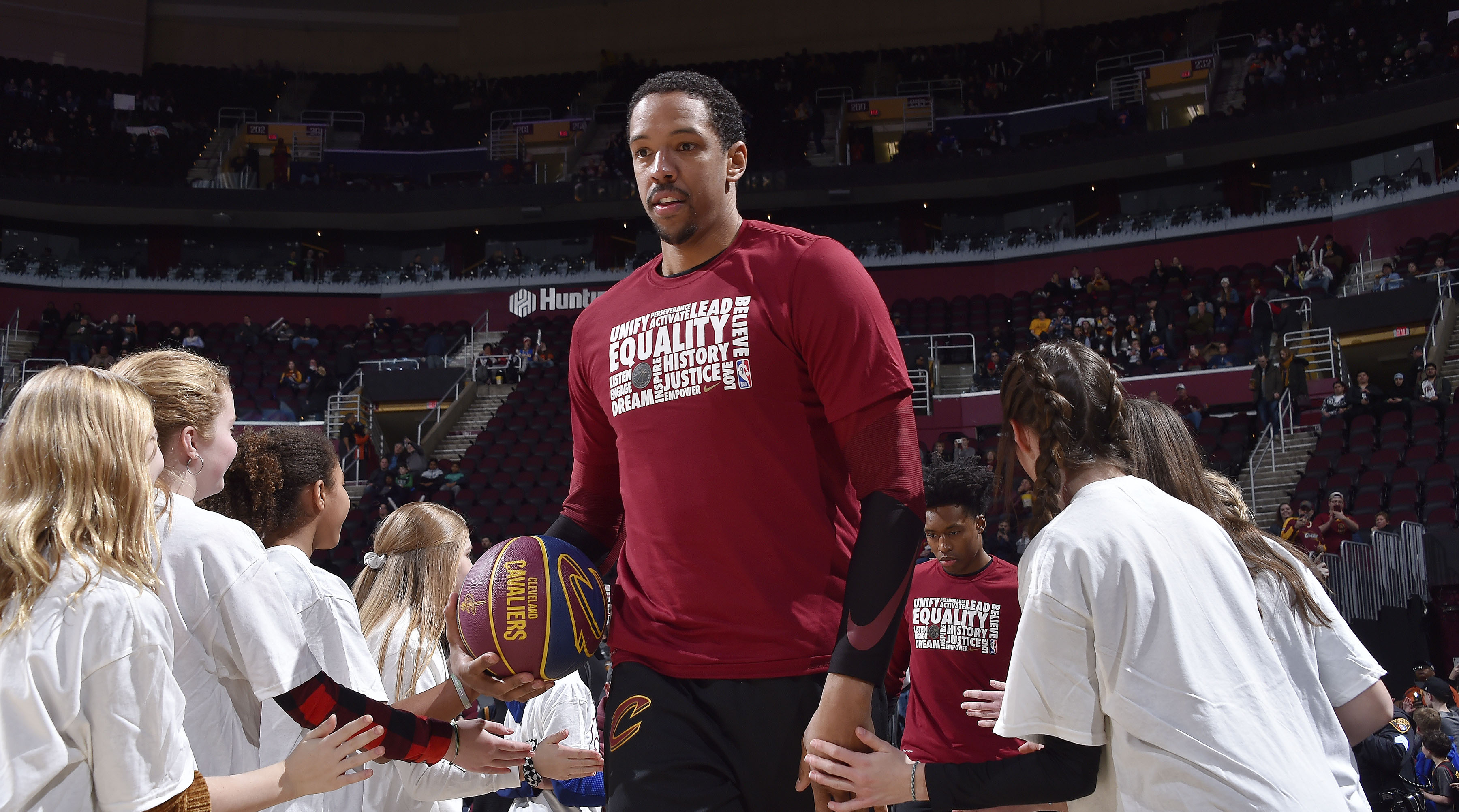 Channing Frye accepting challengers