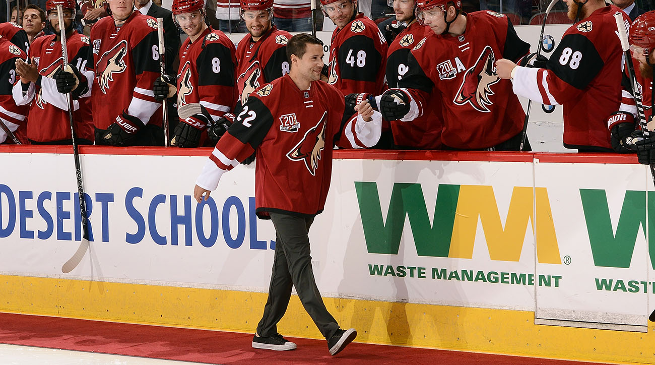 Craig Cunningham returns to ice two years after collapse