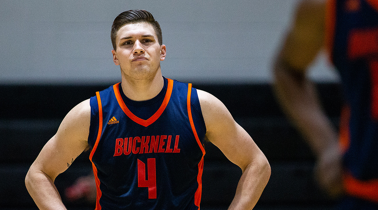 Kentucky basketball transfer Nate Sestina Bucknell John Calipari
