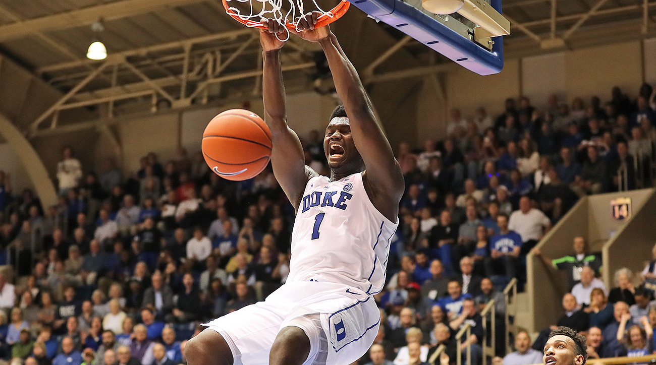 Zion Williamson best dunks highlights video Duke college basketball