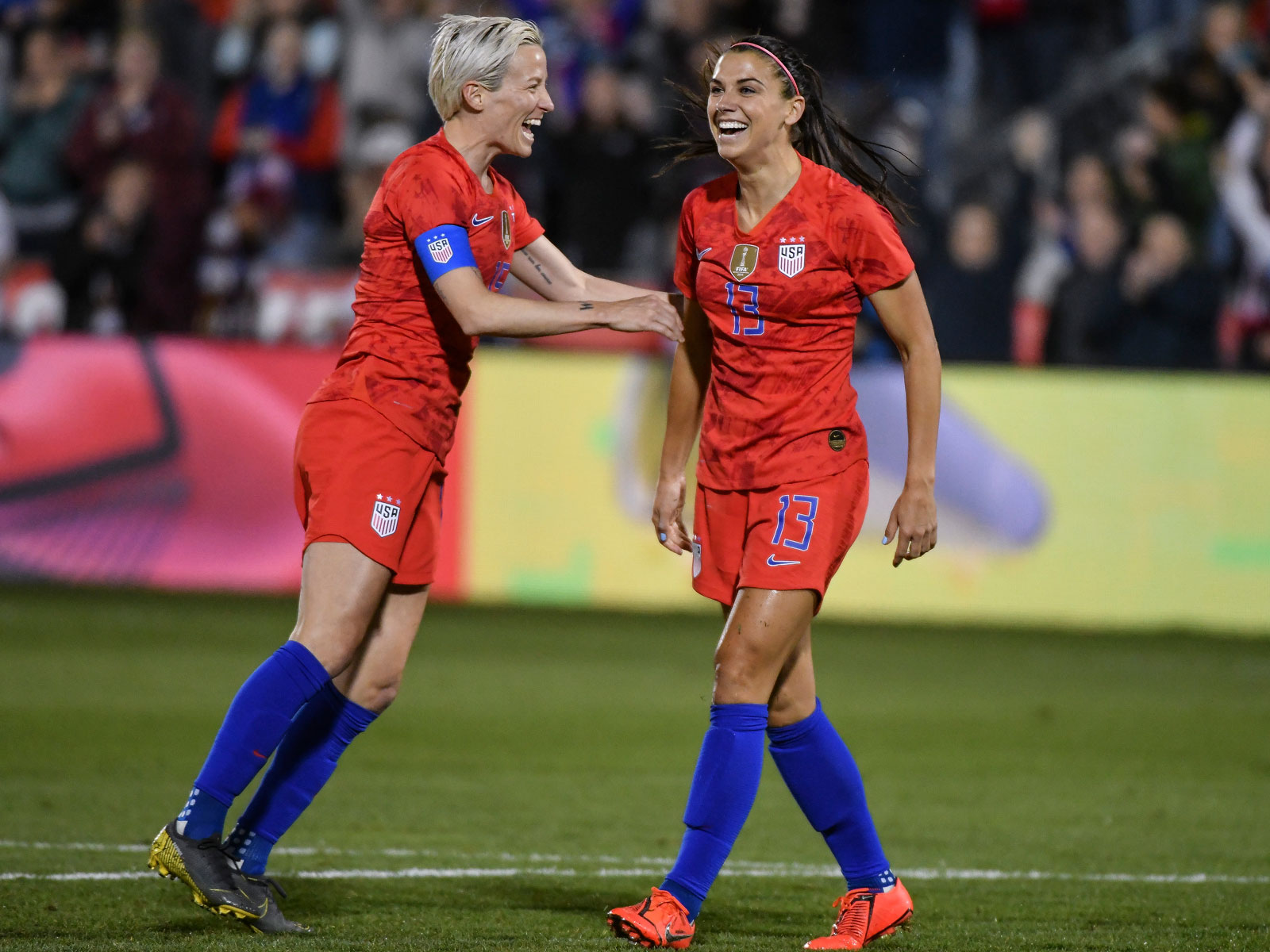 Megan Rapinoe and Alex Morgan spearhead the USWNT's vaunted attack