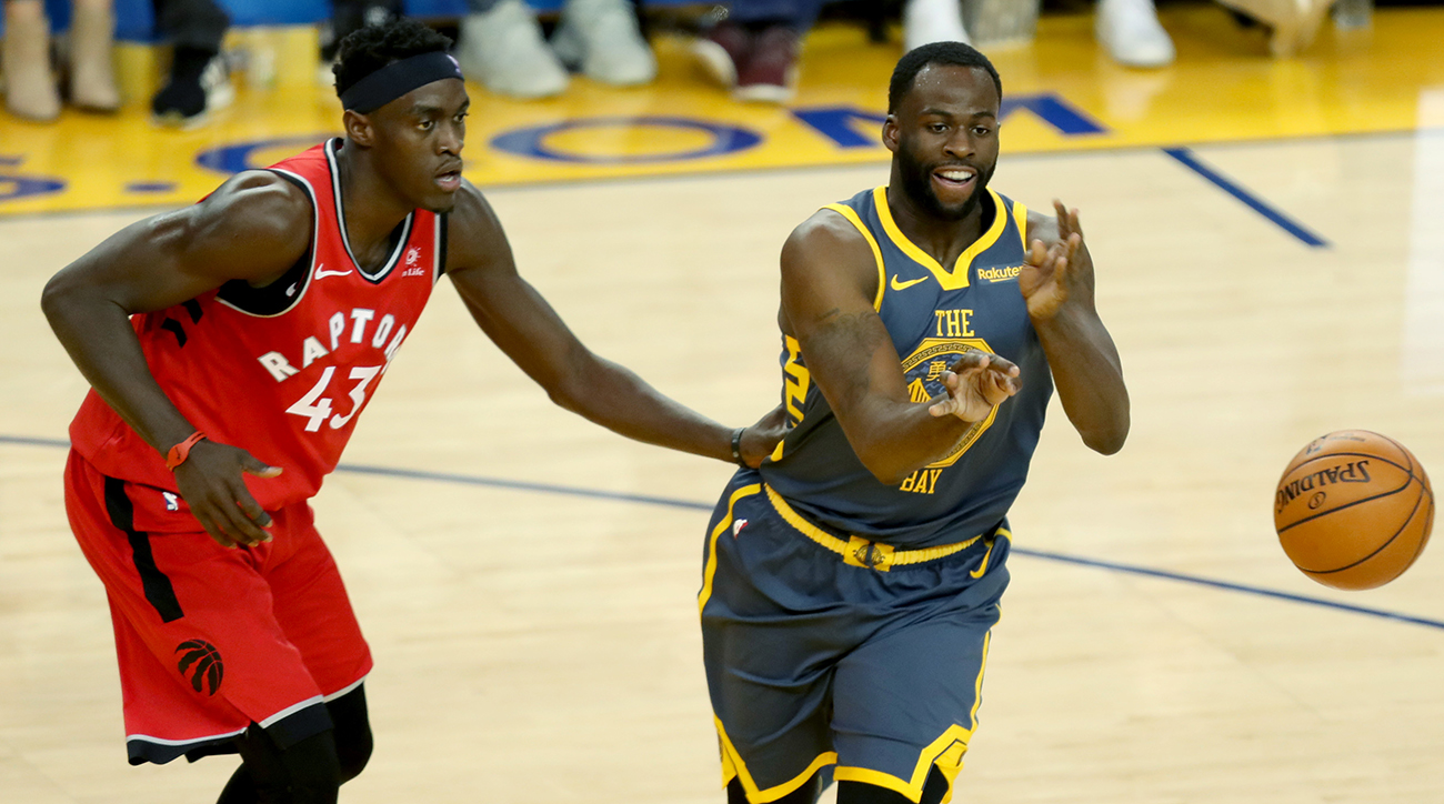 9889d5591f9f NBA Playoffs  Would Raptors trade Pascal Siakam for Draymond Green ...