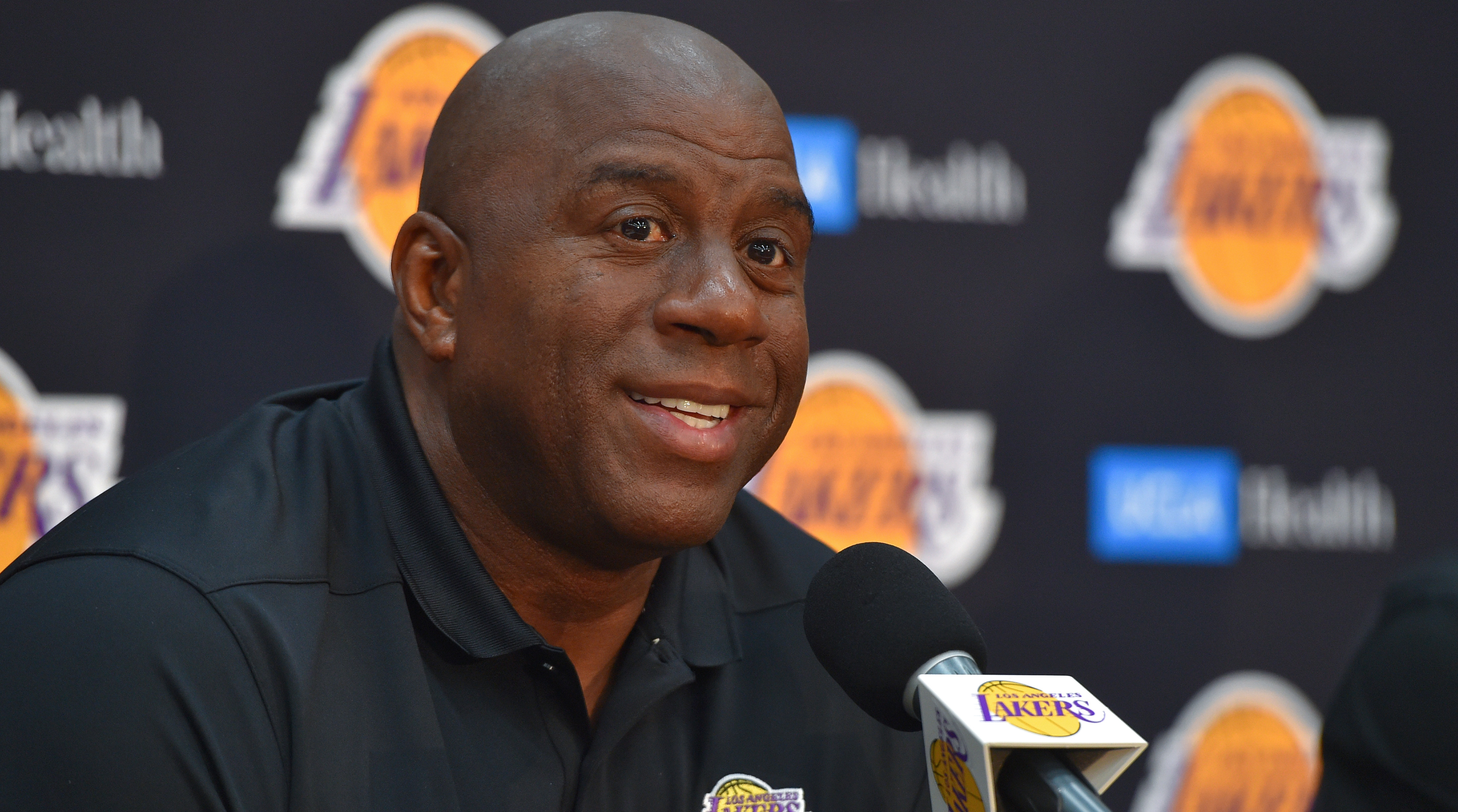 Los Angeles Lakers Management Talk About Upcoming Season