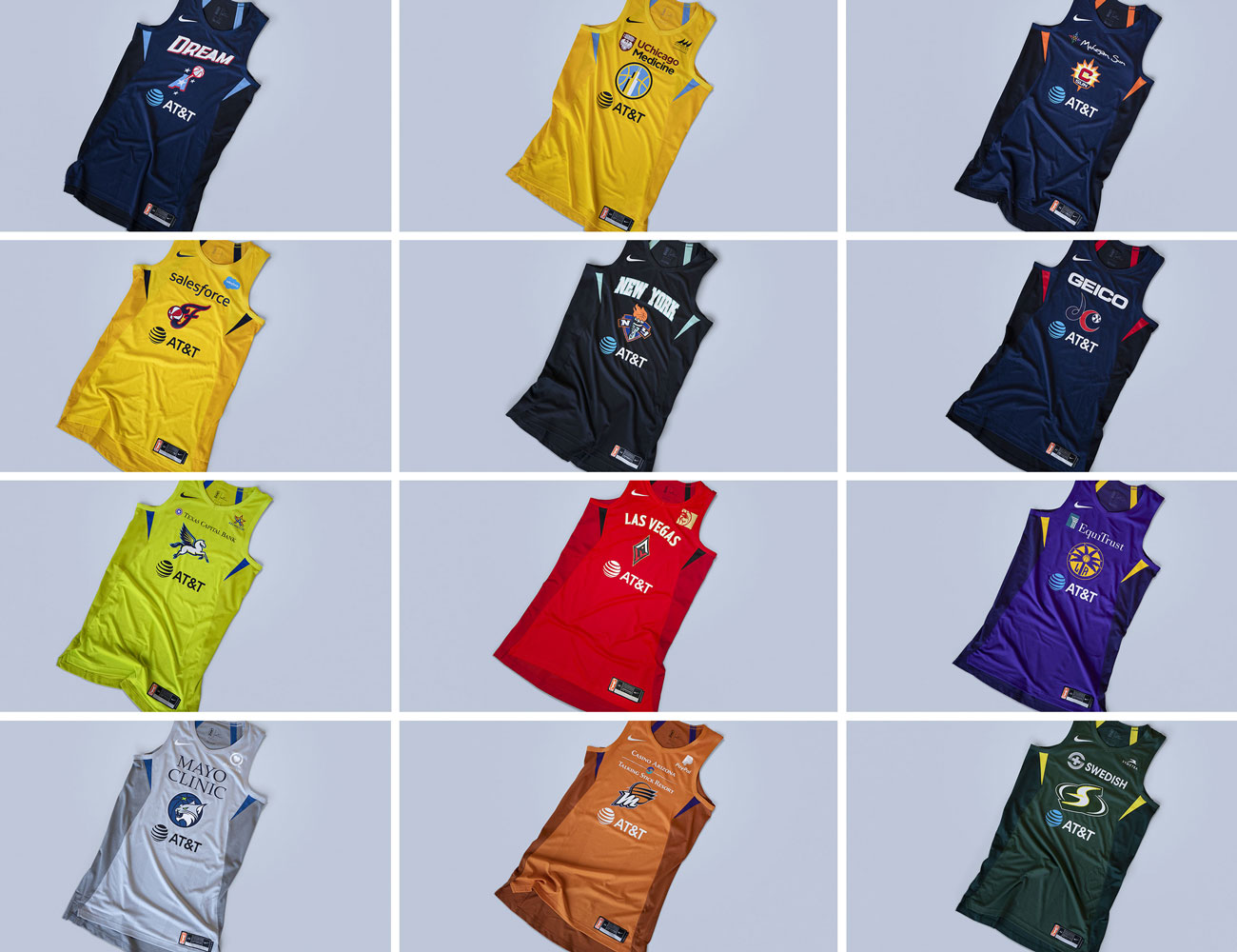 7bf14fc04 WNBA unveils new Nike uniforms, jerseys for 2019 season (Photos ...