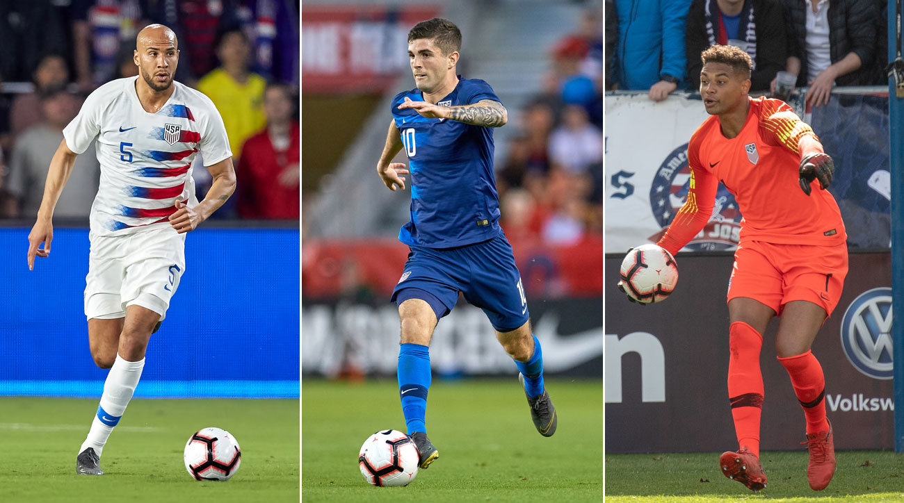 John Brooks, Christian Pulisic and Zack Steffen should suit up for the USMNT at the Gold Cup