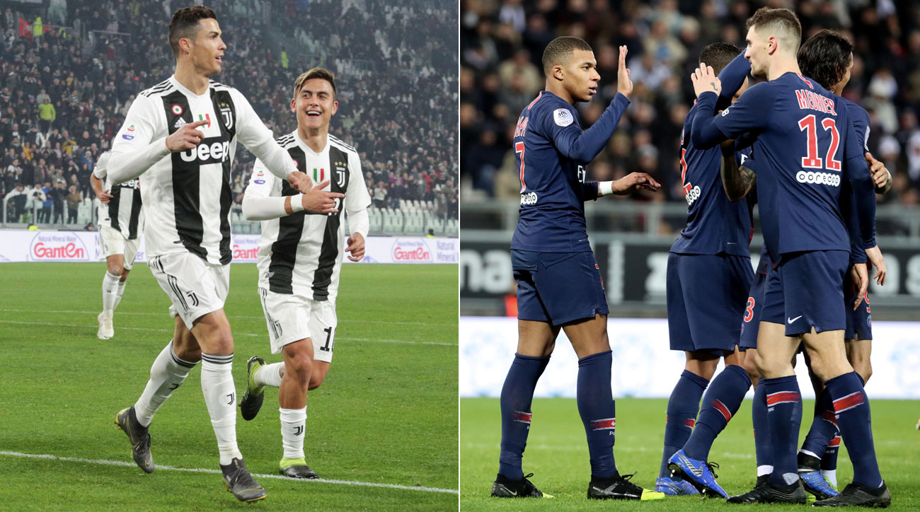 Juventus and PSG are about to wrap up another pair of domestic league titles