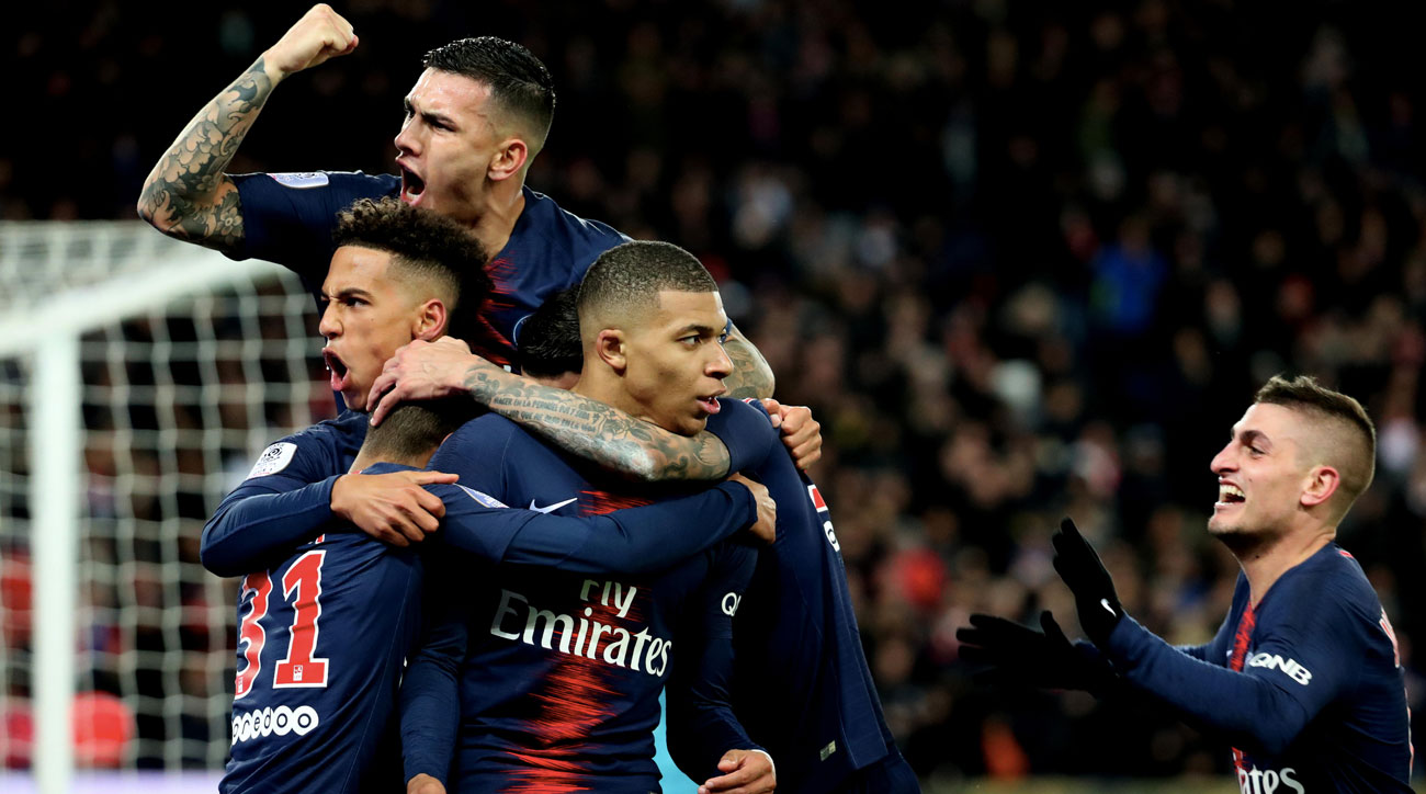 PSG wins another Ligue 1 title