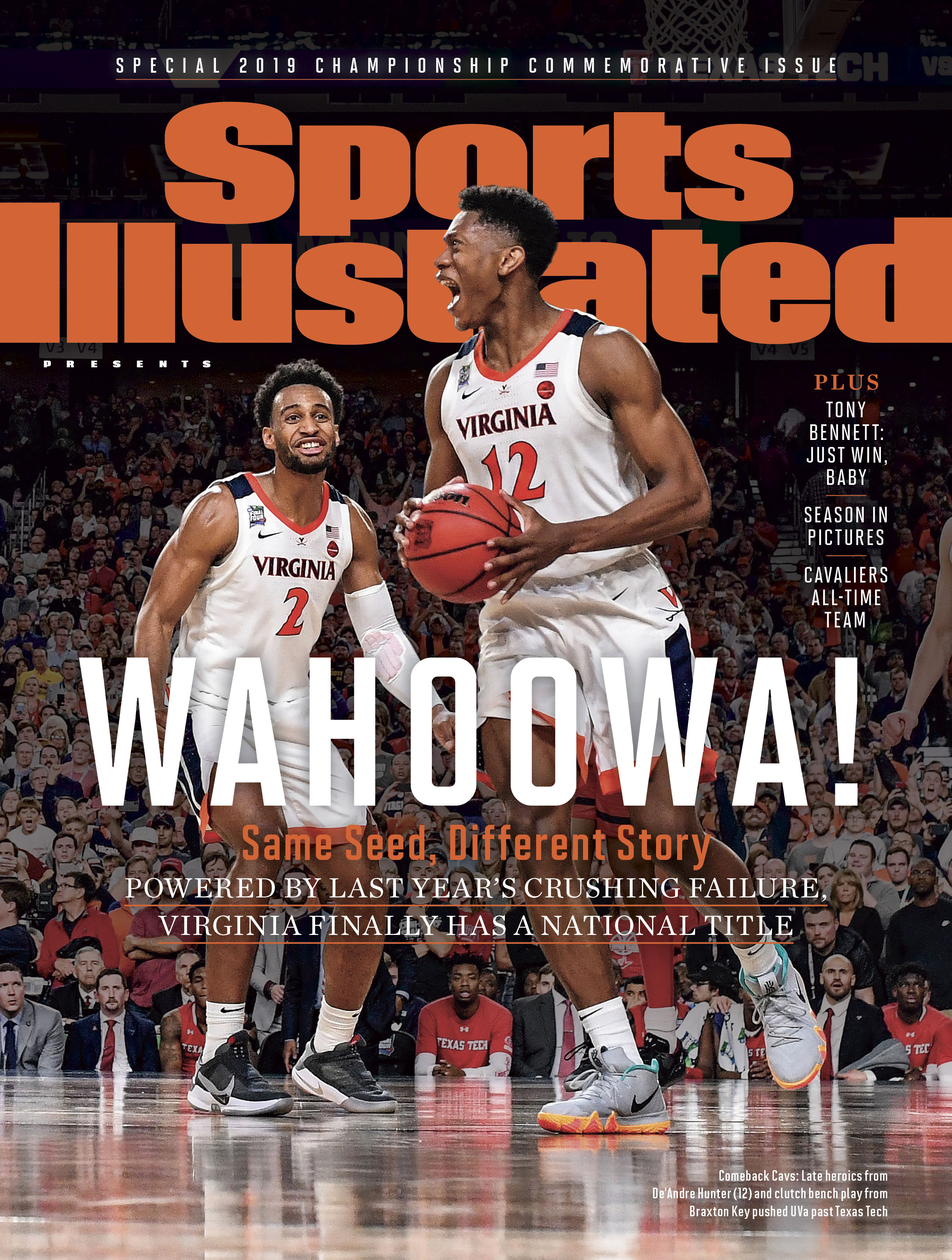 Virginia national championship Sports Illustrated covers ...
