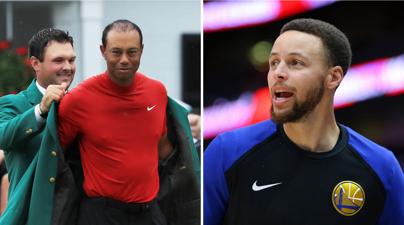 Stephen Curry trolled over Tiger Woods tweet