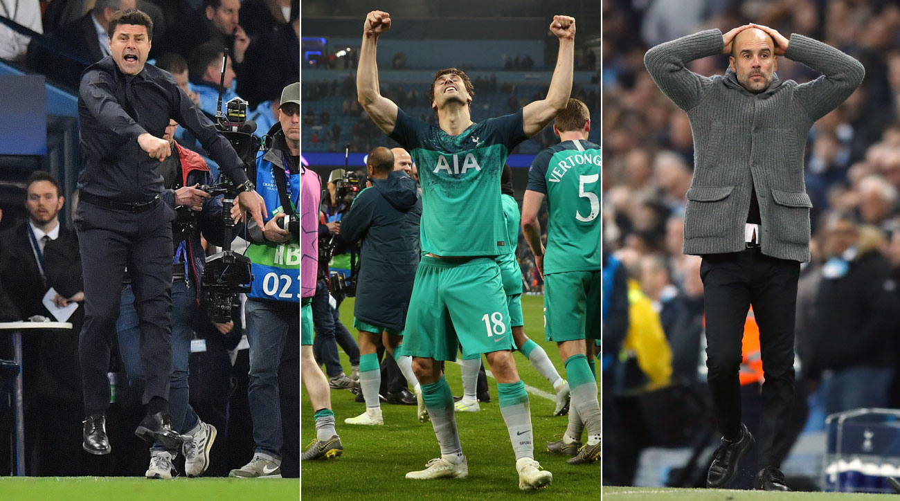 Tottenham advances to the Champions League semifinals on away goals