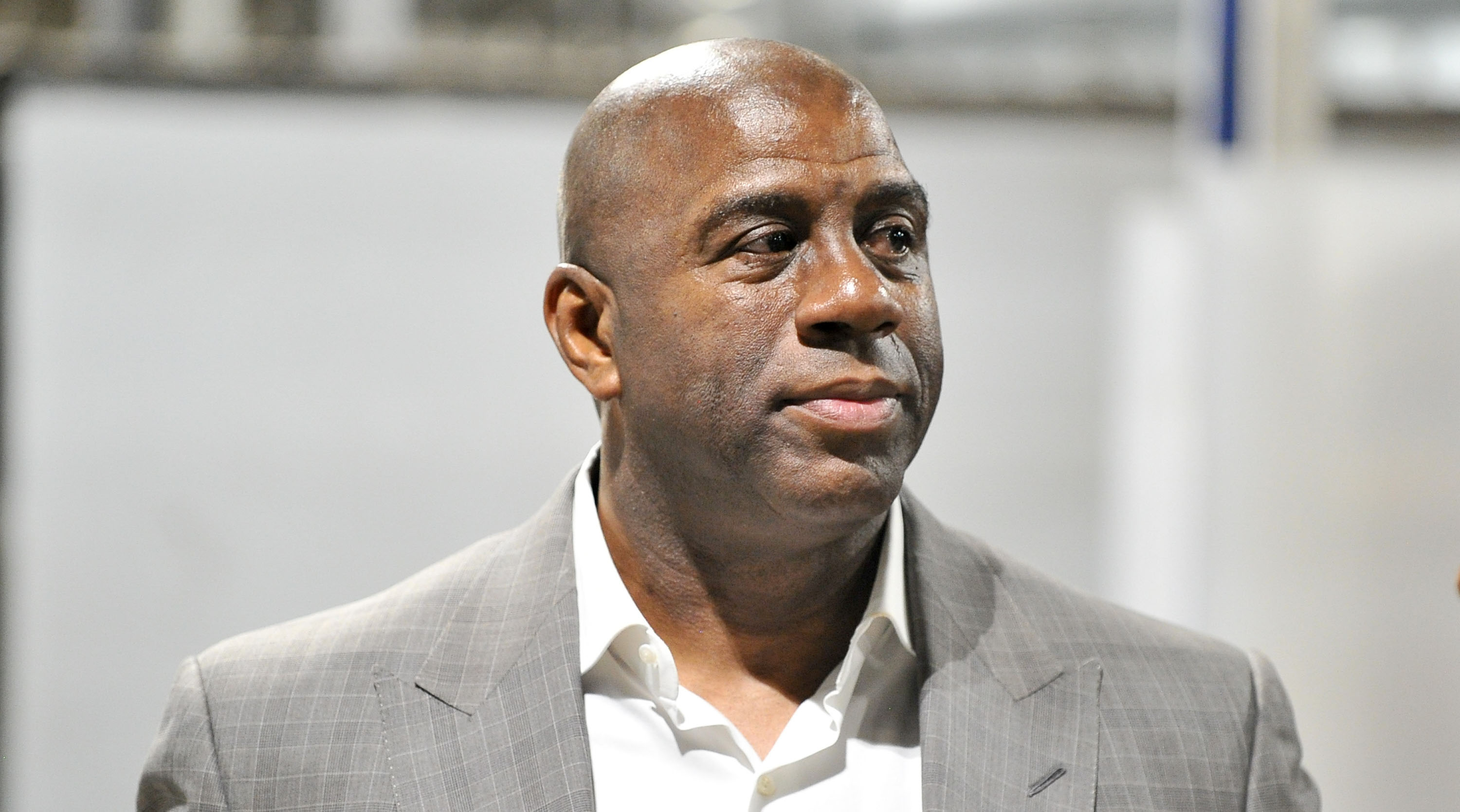 MAgic Johnson on resigning from Lakers