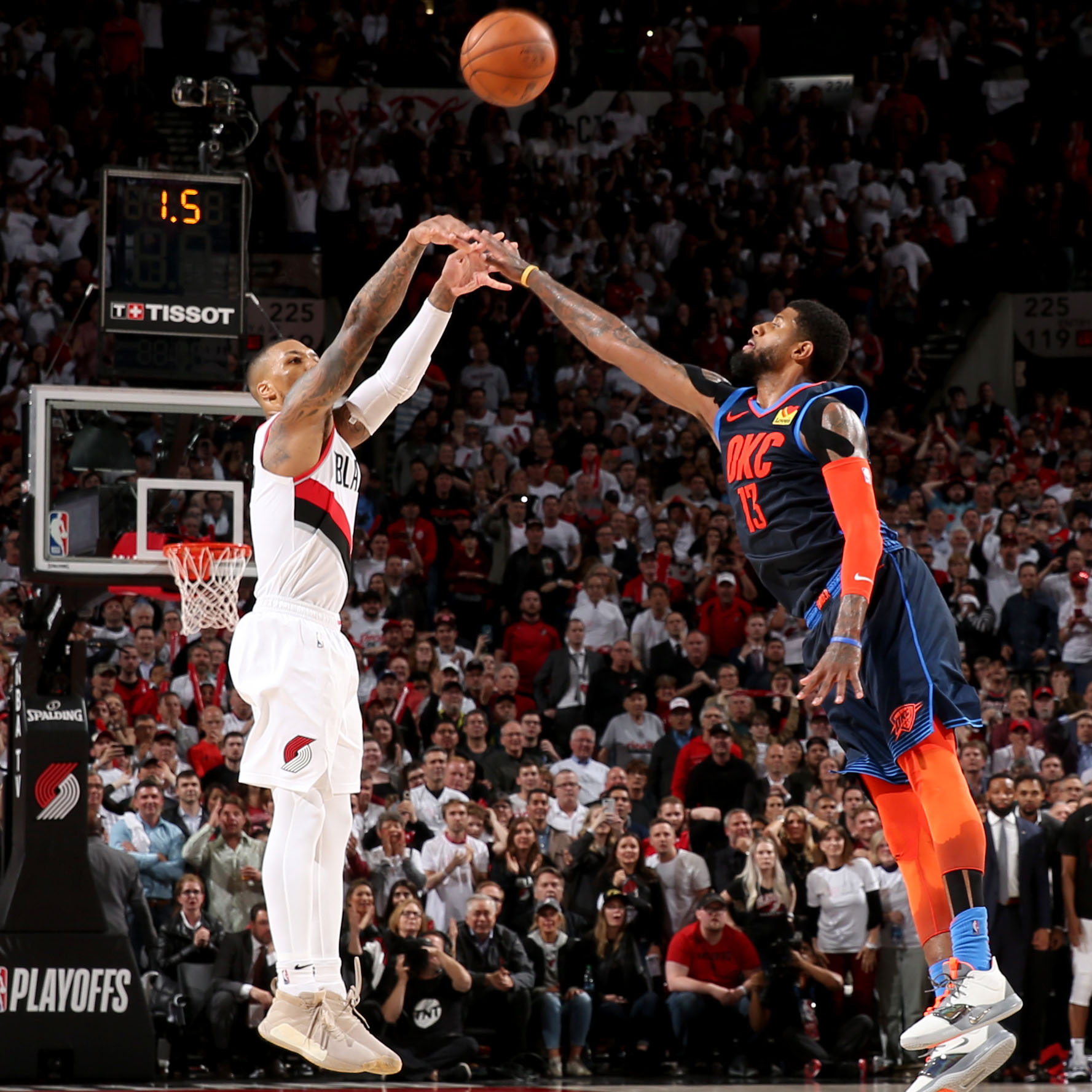 Blazers Thunder Reddit: Damian Lillard Buzzer Beater: Breakdown Of Game-winner