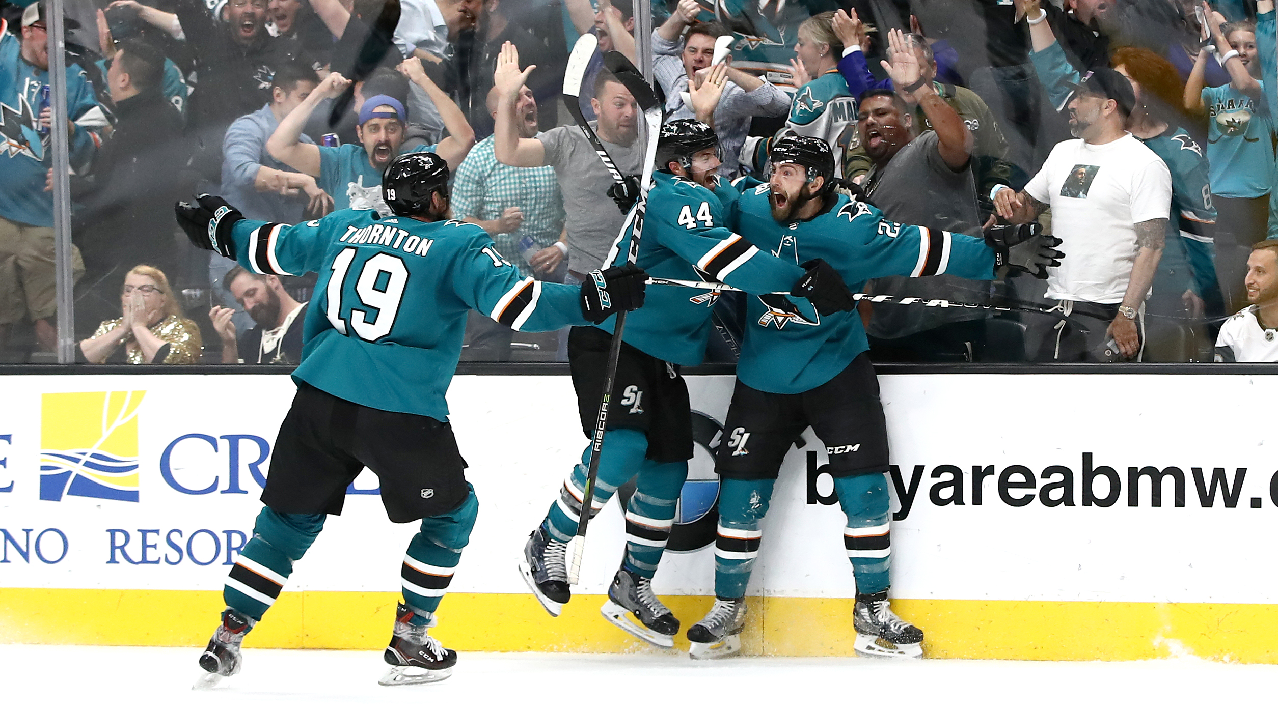 Vegas Golden Knights v San Jose Sharks - Game Seven