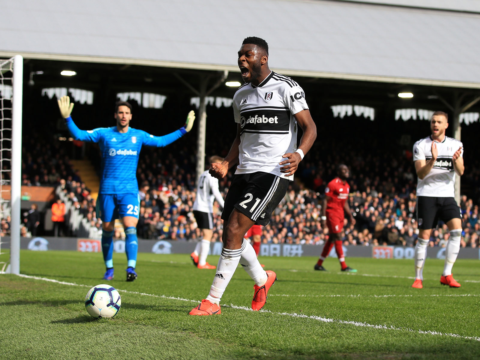 Timothy Fosu-Mensah has been on loan at Fulham from Man United