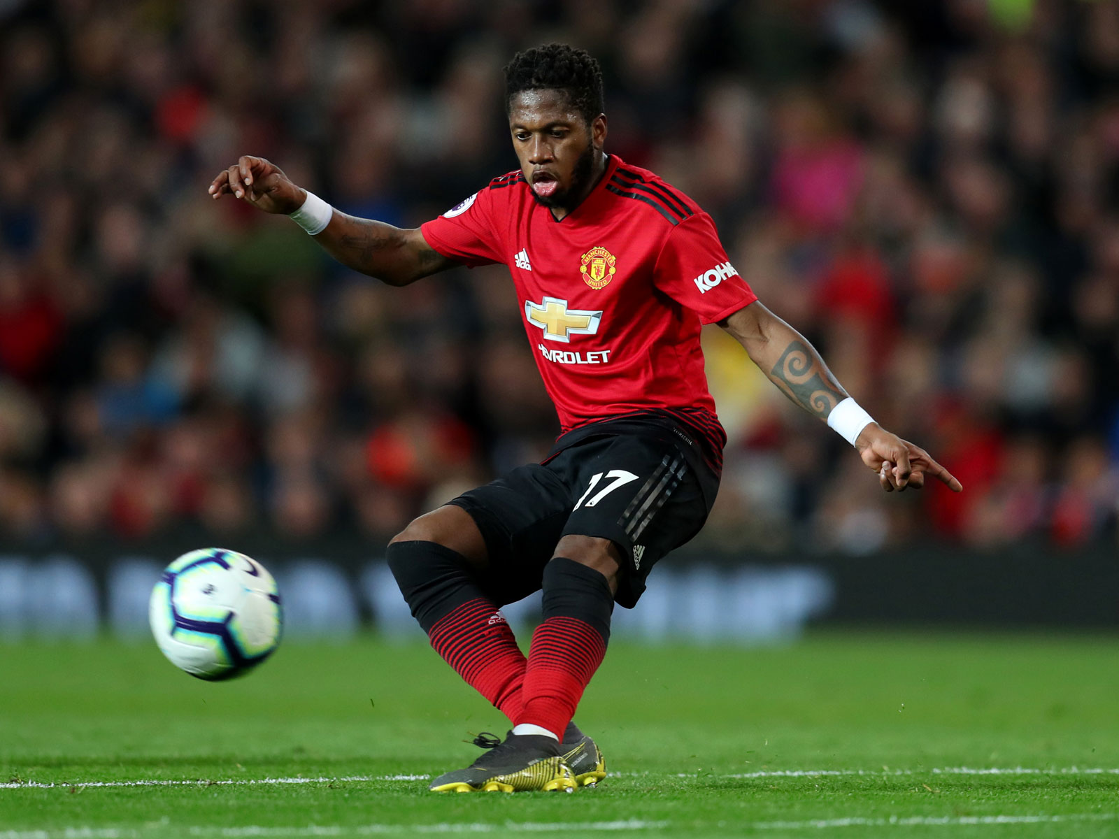 Fred has struggled in his first Manchester United season