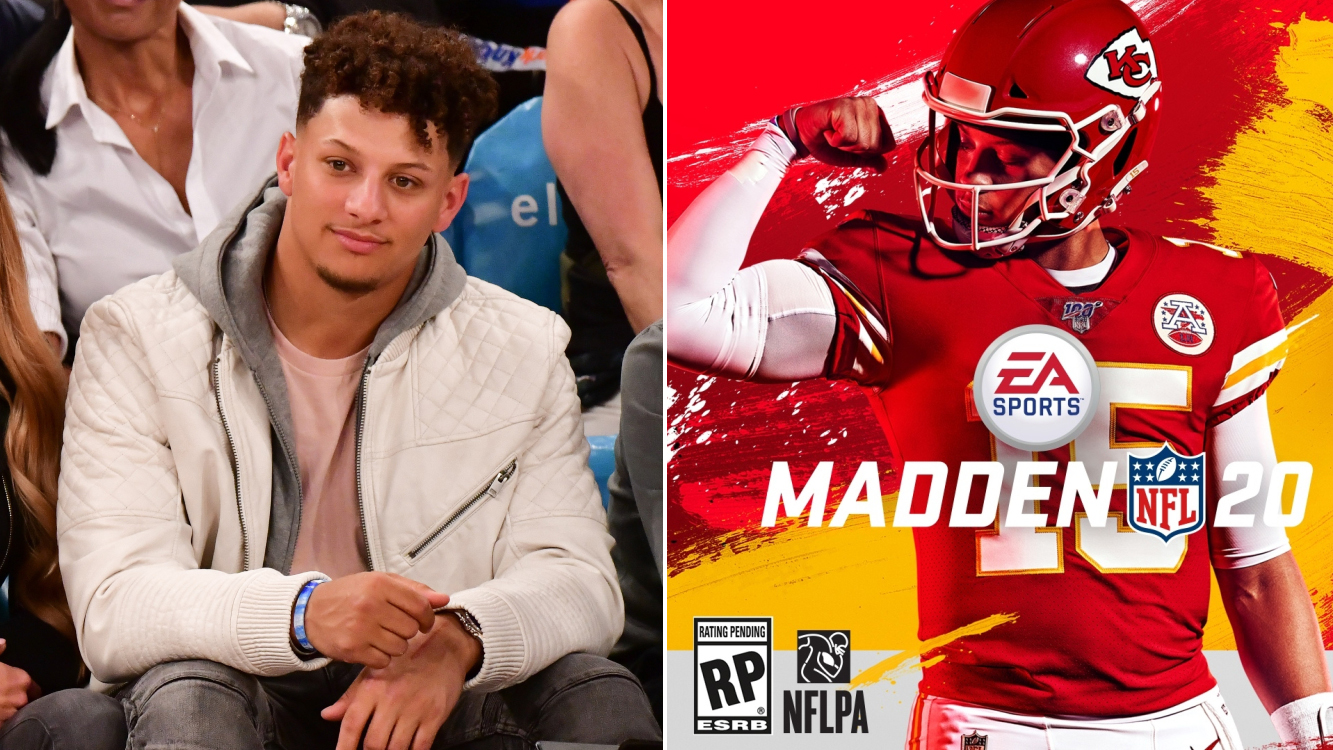 Chiefs' Patrick Mahomes on Madden 20 cover (photos)