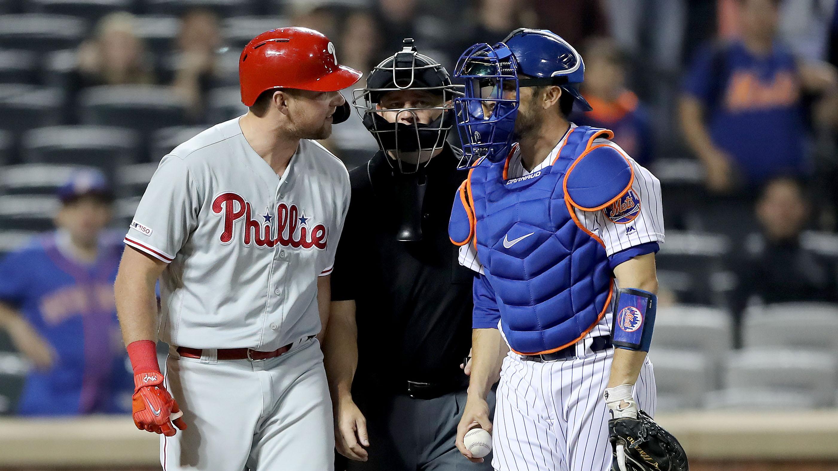 Rhys Hoskins taunts Mets' Jacob Rhame after homer (video)