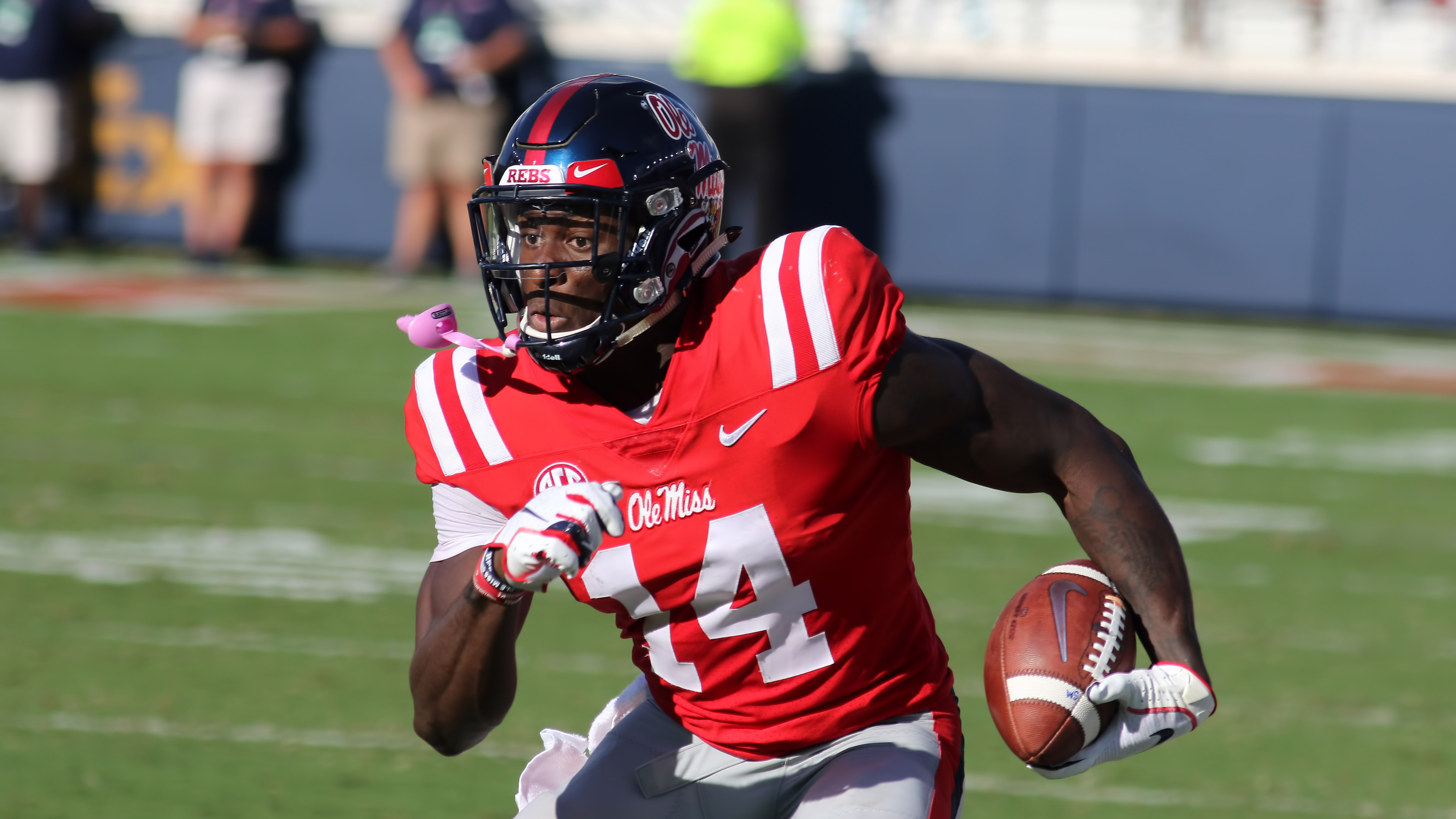 the best attitude c1db0 1f1d6 DK Metcalf drafted: Seahawks select Ole Miss wide receiver ...