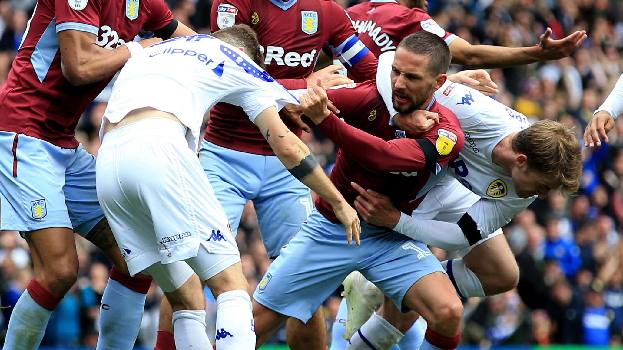 Leeds vs Aston Villa video: Marcelo Bielsa allows goal
