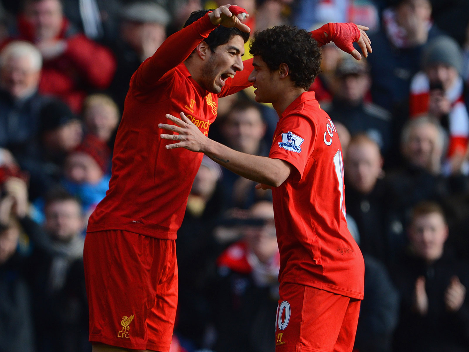 Luis Suarez and Philippe Coutinho will face their former club