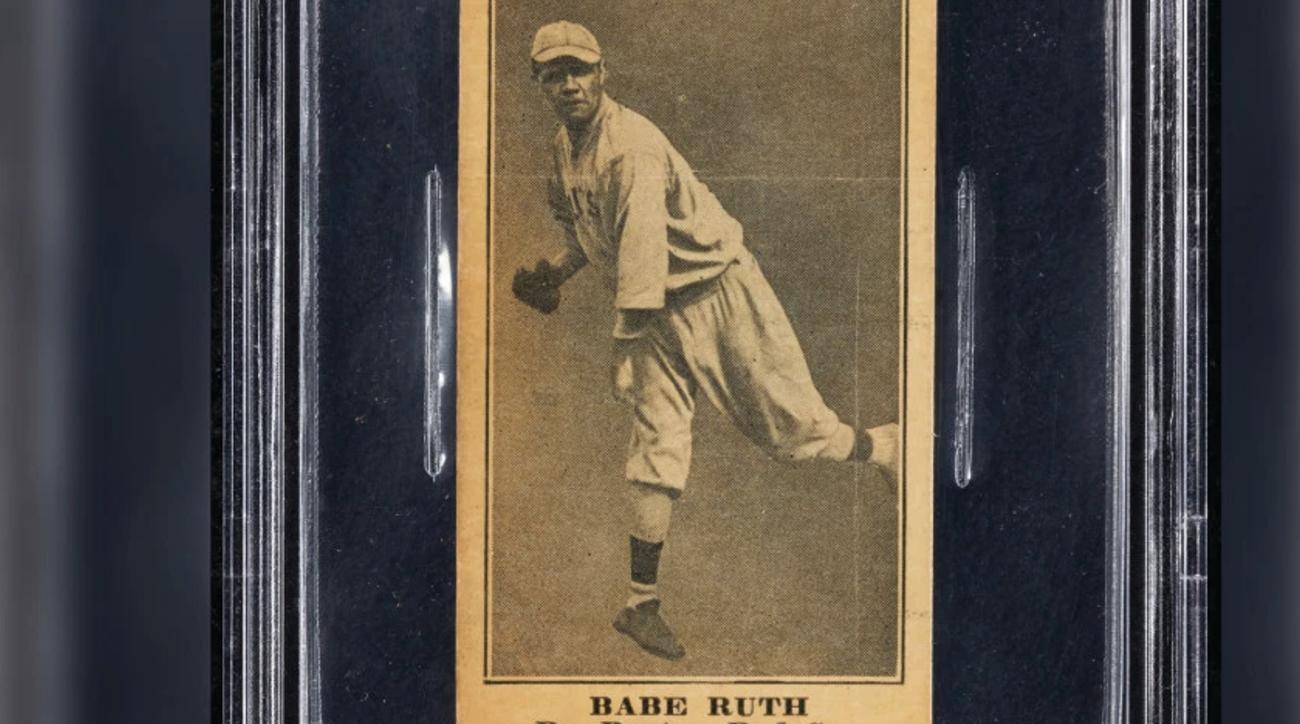 babe ruth, babe ruth memorabalia, babe ruth baseball card, yankees, new york yankees