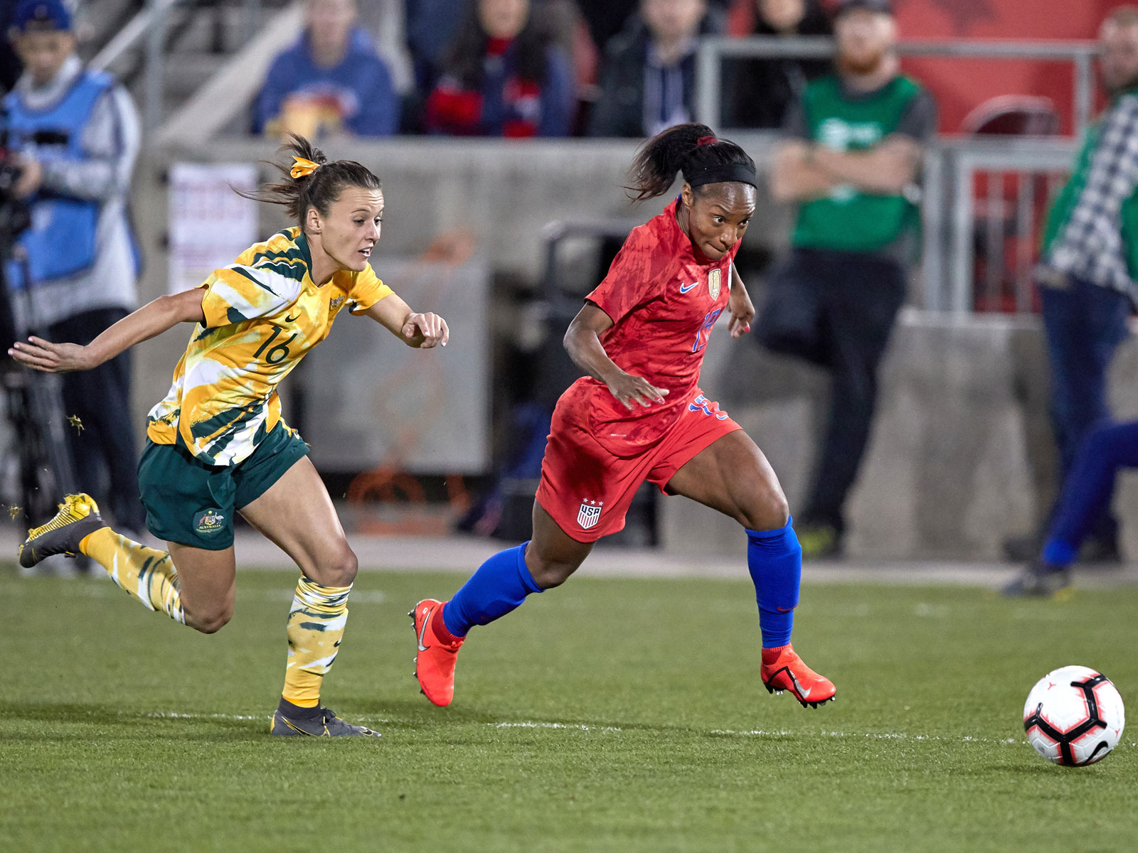 USWNT's Crystal Dunn is expected to start at left back at the Women's World Cup