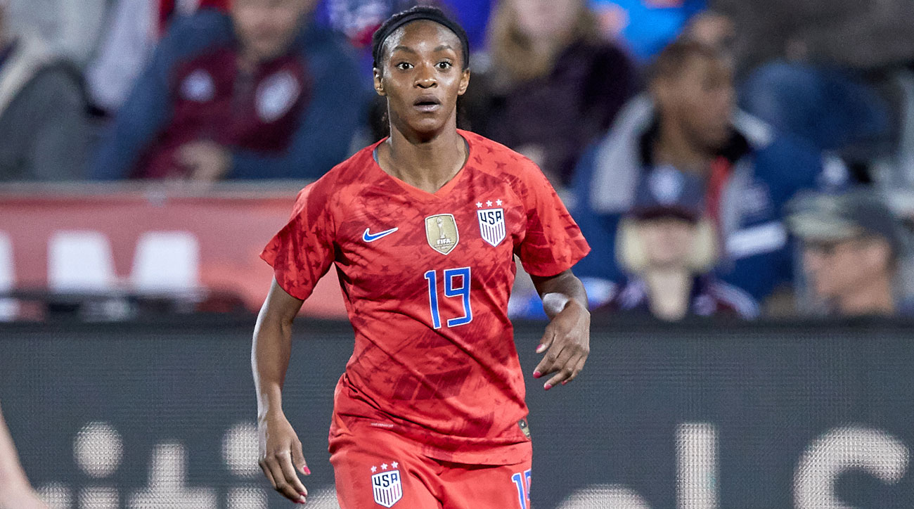 Crystal Dunn will feature for the USWNT at the Women's World Cup