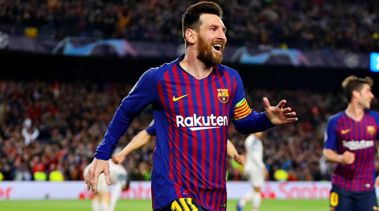 Lionel Messi is the hero for Barcelona vs. Liverpool
